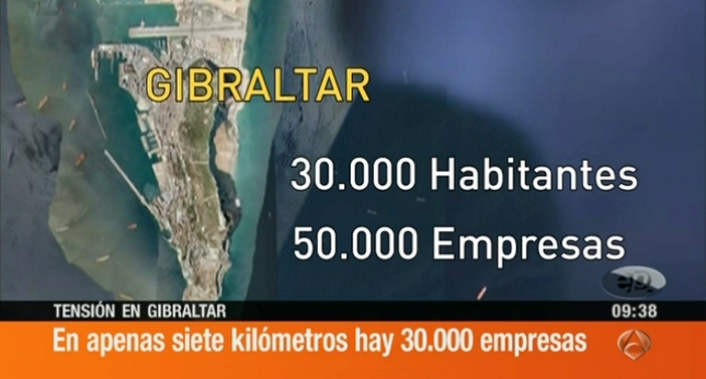GIBRALTAR, LA DOBLE MORAL DEL PP.