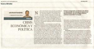 Crisis ec. y pol. 1