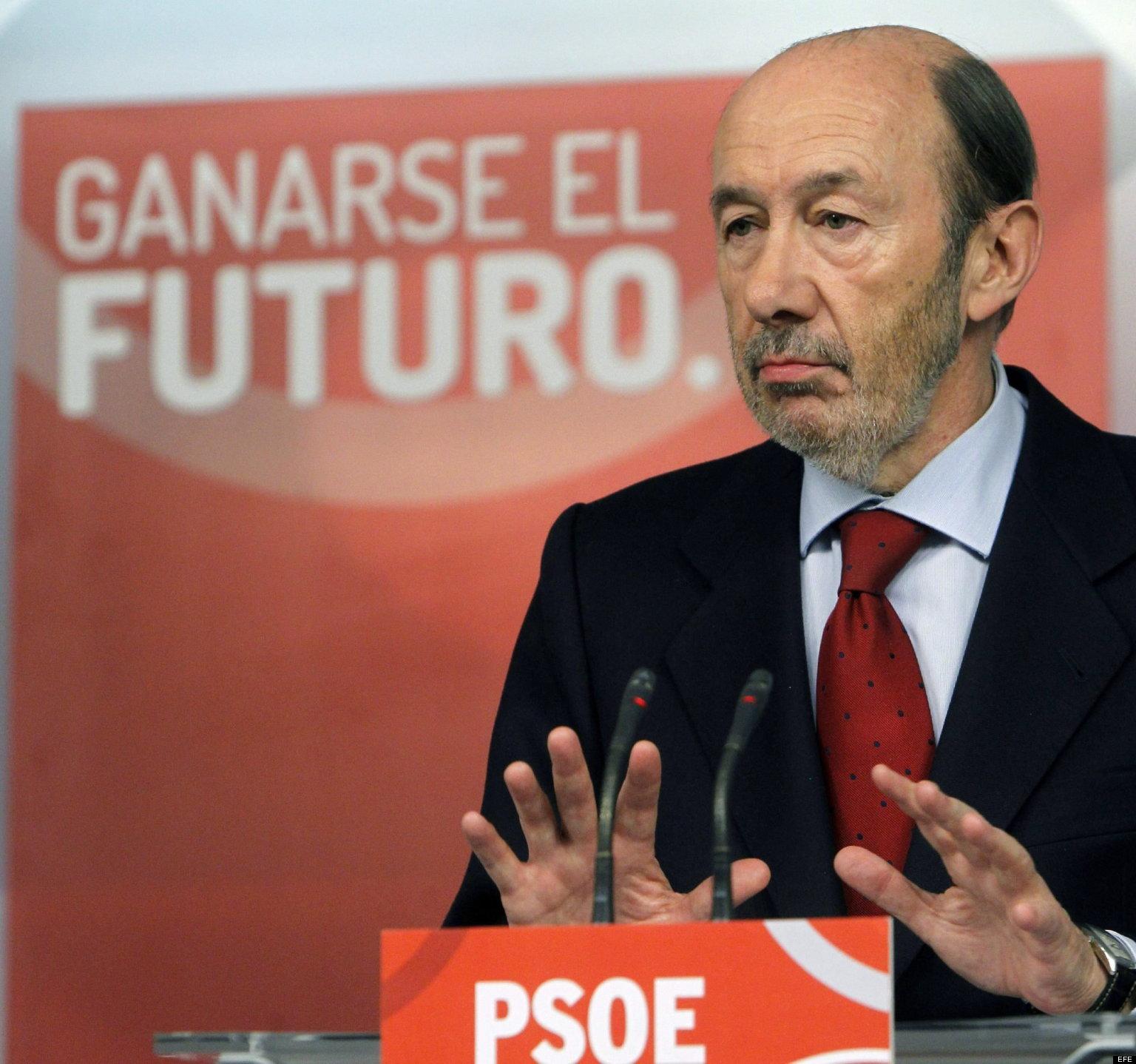 RUEDA DE PRENSA DE RUBALCABA, TRAS LA REUNIÓN DE LA EJECUTIVA FEDERAL DEL PSOE