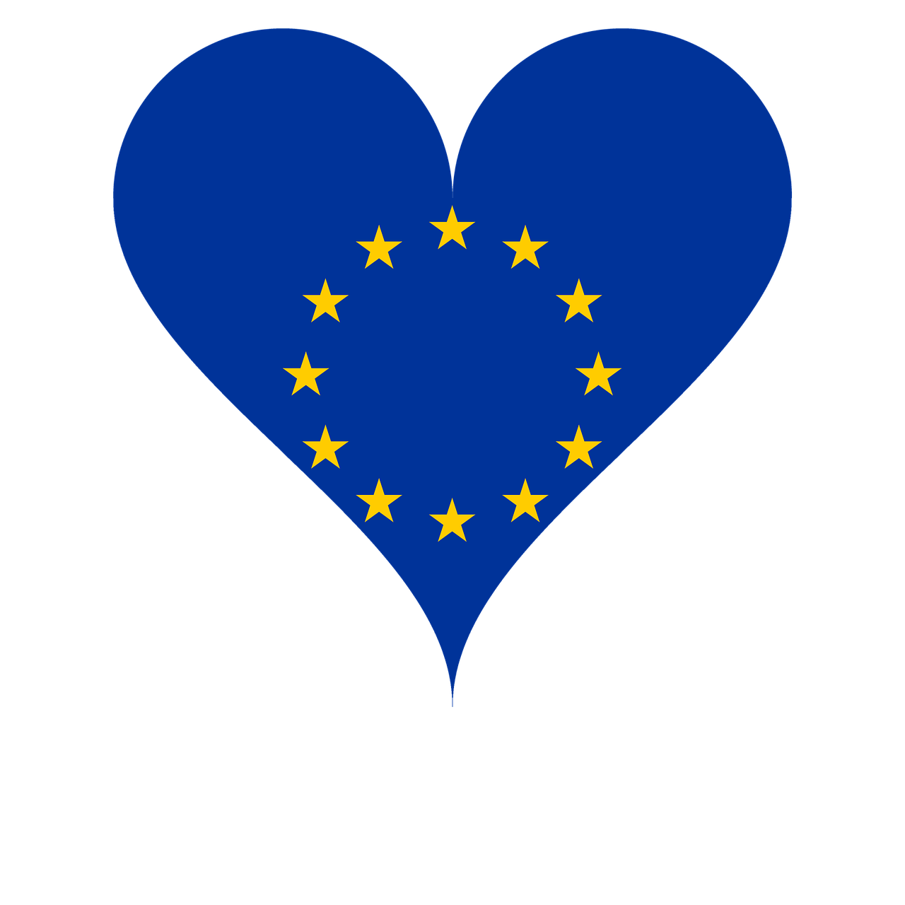 Corazón de la UE.